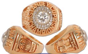 Edmonton Oilers 1985 Stanley Cup Ring