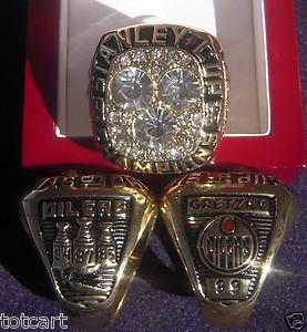 Edmonton Oilers 1987 Stanley Cup Ring
