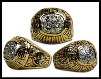 Edmonton Oilers 1988 Stanley Cup Ring