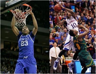 Kentucky and Kansas Meet in Tonight's 2012 NCAA Championship Game