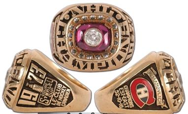 Montreal Canadiens 1973 Stanley Cup Ring