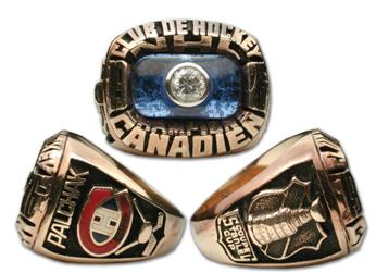 Montreal Canadiens 1976 Stanley Cup Ring