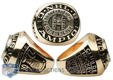 Montreal Canadiens 1977 Stanley Cup Ring