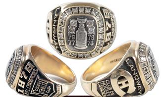 Montreal Canadiens 1979 Stanley Cup Ring