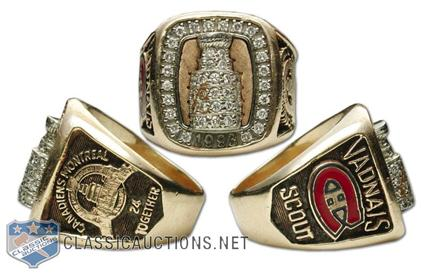 Montreal Canadiens 1993 Stanley Cup Ring