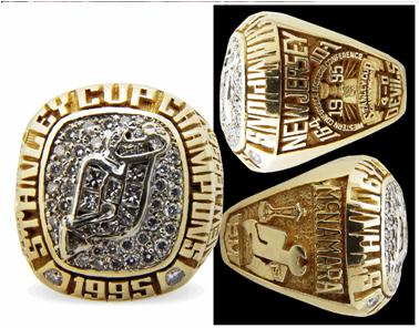 New Jersey Devils 1995 Stanley Cup Ring