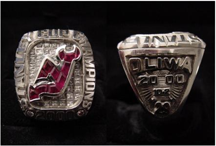 New Jersey Devils 2000 Stanley Cup Ring