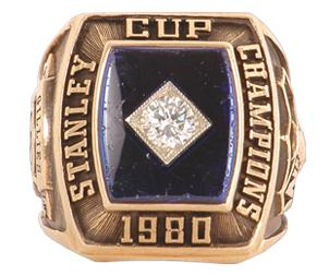 New York Islanders 1980 Stanley Cup Ring