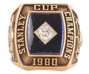 New York Islanders 1980 Stanley Cup Ring