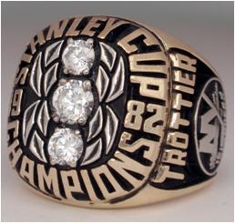 New York Islanders 1982 Stanley Cup Ring