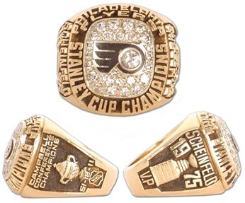 Philadelphia Flyers 1975 Stanley Cup Ring
