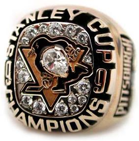Pittsburgh Penguins 1991 Stanley Cup Ring