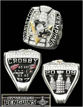 Pittsburgh Penguins 2009 Stanley Cup Ring