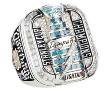 Tampa Bay Lightning 2004 Stanley Cup Ring