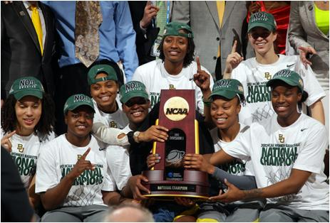 The Baylor Lady Bears Are the 2012 National Champions