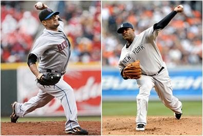 Johan Santana and CC Sabathia