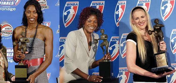Lisa Leslie, Sheryl Swoopes and Lauren Jackson Are the WNBA's Three-Time MVP Winners