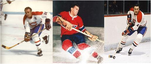 Montreal Canadiens Henri Richard, Maurice Richard and Jean Beliveau Own Most of the Stanley Cup Finals Career Records