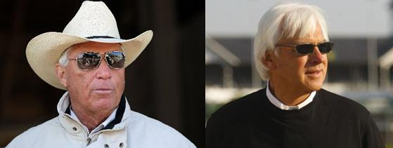 Trainers D. Wayne Lukas and Bob Baffert Are Going For Their Fifth and Fourth Kentucky Derby Wins, Respectively