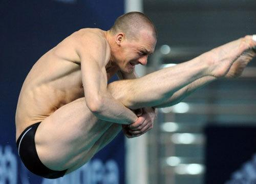 Dmitri Sautin of Russia Has the Most Diving Medals