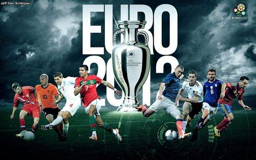 Euro 2012 is Being Hosted by Poland and Ukraine