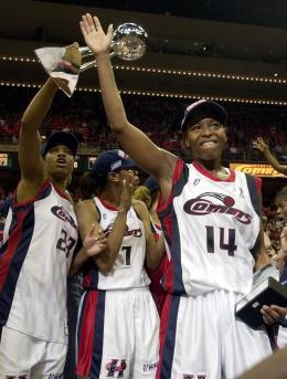 The Houston Comets Won It Four Times