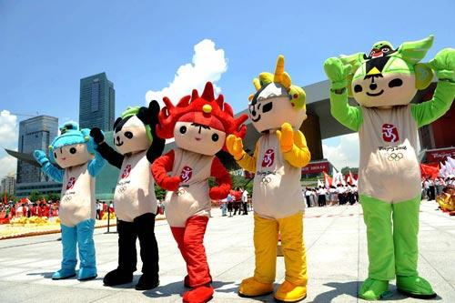 2012 Summer Olympics mascots