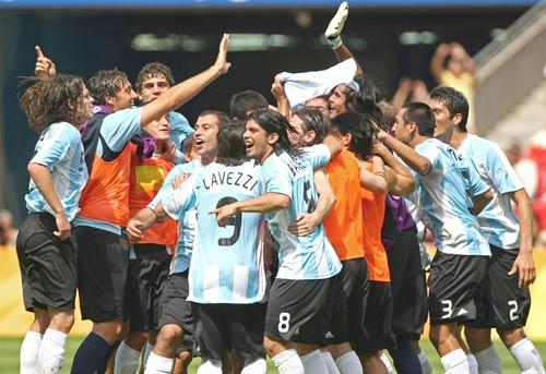 Argentina Is The Reigning Olympic Football Champion, Winning Gold at Beijing in 2008