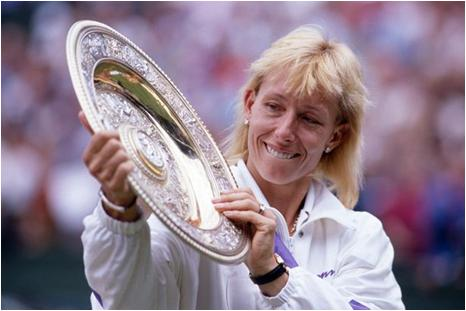 Martina Navratilova Went to the Wimbledon Finals a Record 12 Times