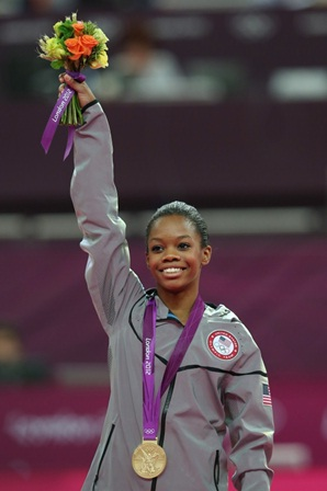 Gabby Douglas Wins Women's Gymnastics Individual All-Around Gold, Third In A Row For The USA