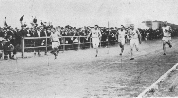 The 60 Meter Dash at the 1904 St. Louis Olympics