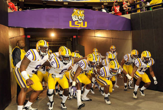 The LSU Tigers Are Ranked No. 1 Heading Into the 2012 NCAA College Football Season