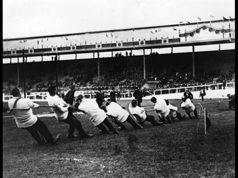 Tug-Of-War at the 1908 London Olympics