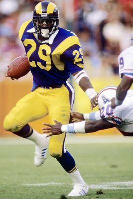Eric Dickerson Holds the NFL's Single-Season Rushing Record