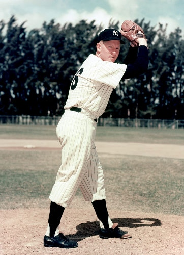New York Yankee Pitcher Whitey Ford Has the Most World Series Wins of All Time: 10