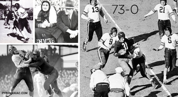 The Biggest Blowout in NFL History: Chicago Bears 73 - Washington Redskins 0