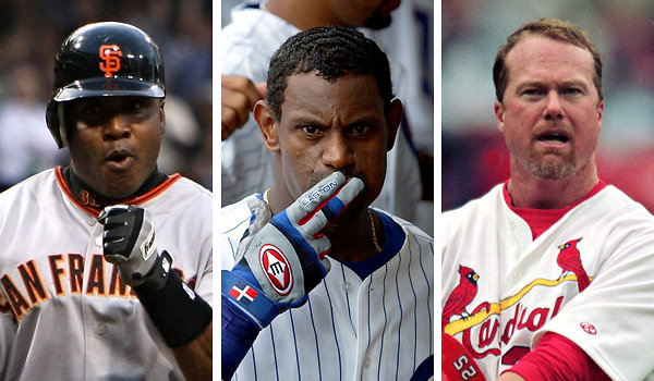 Barry Bonds, Sammy Sosa and Mark McGwire: Poster Children of the Steroid Era