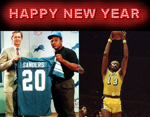 Happy New Year 2013 from Sports List of the Day
