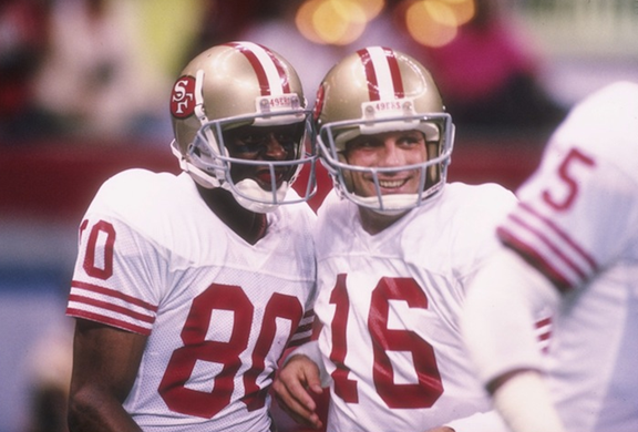 Jerry Rice and Joe Montana Led the Biggest Blowout in Super Bowl History