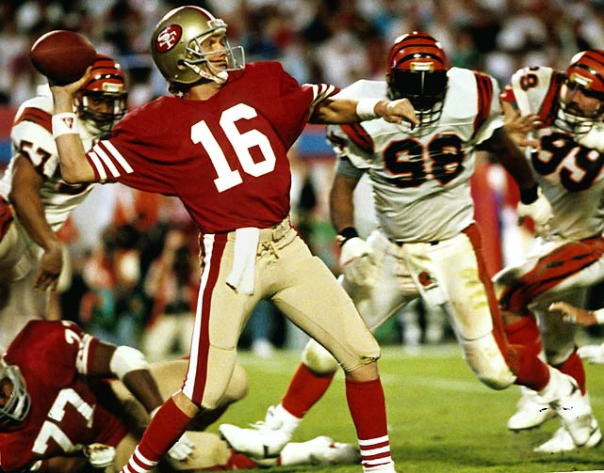 Joe Montana Has the Most Passing Touchdowns in Super Bowl History