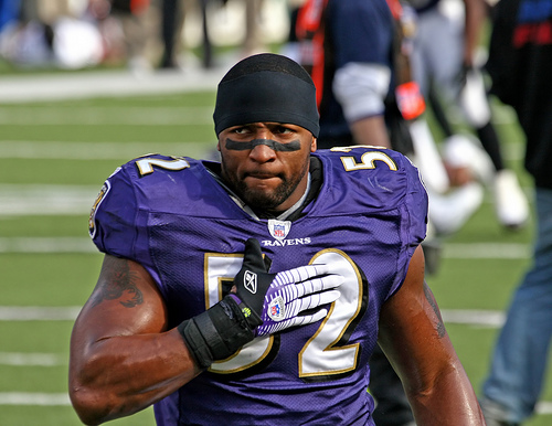 Ray Lewis, One of the Three Greatest Linebackers to Play the Game
