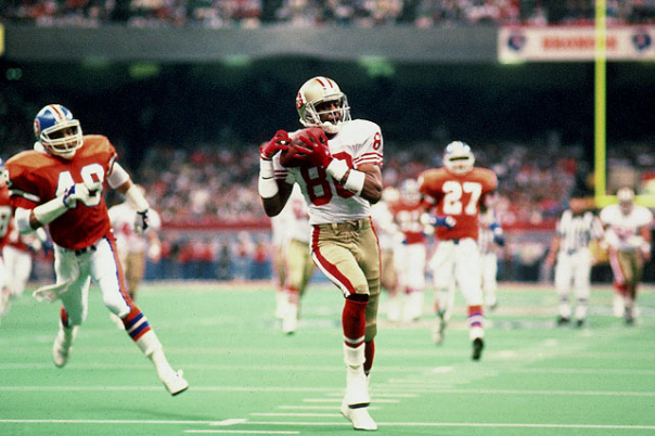 Jerry Rice Dominated in the Super Bowl Like No Other Wide Receiver