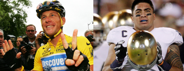 Lance Armstrong and Manti Te'o - The Most Disliked Athletes in American Sports, 2013