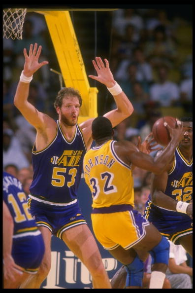 Don't Even Think About It. It's Mark Eaton.