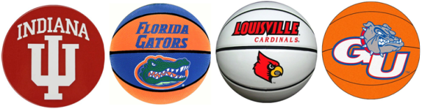 The 2013 Final Four? Indiana, Florida, Louisville and Gonzaga According to SRS.