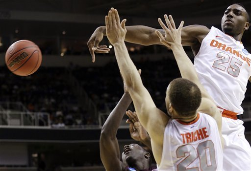 The Syracuse Orange Held the Montana Grizzlies to 34 Points, Third-Fewest Points in NCAA Tournament History