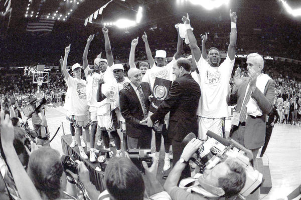 Hall of Famer Jerry Tarkanian and His 1990 UNLV Runnin' Rebels Scored the Most Points in an NCAA Tournament Championship Game