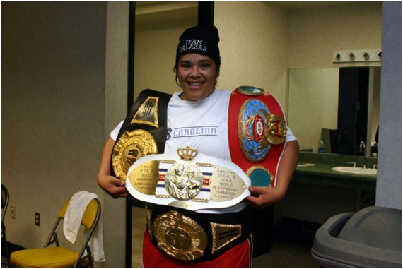 American Martha Salazar Is the 2013 No. 1 Ranked Woman Heavyweight in the World