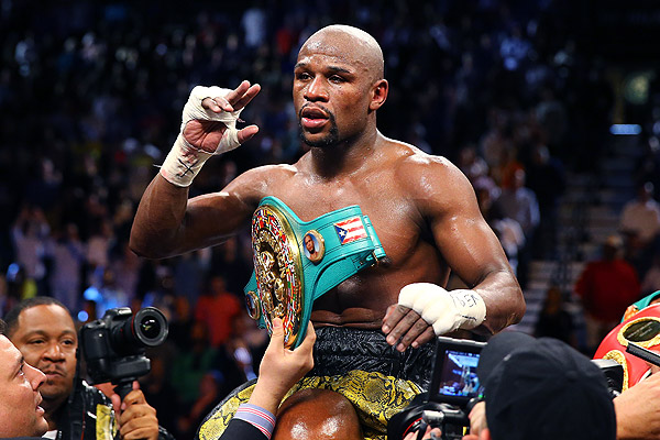 Floyd Mayweather Is Once Again the Best Boxer in the World
