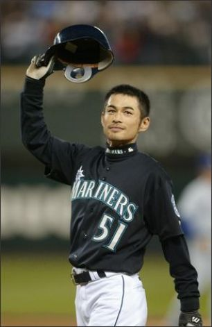 Ichiro Suzuki After His 258th Hit, Breaking George Sisler's 84-Year Old Single-Season Hits Record